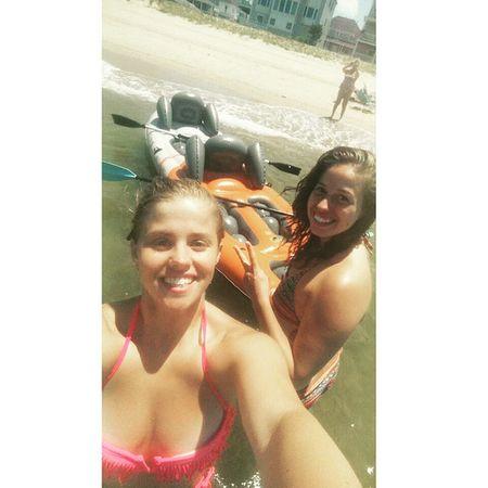 Kayaking with the sis in virgina Kayaking VirginiaBeach @bpapa20