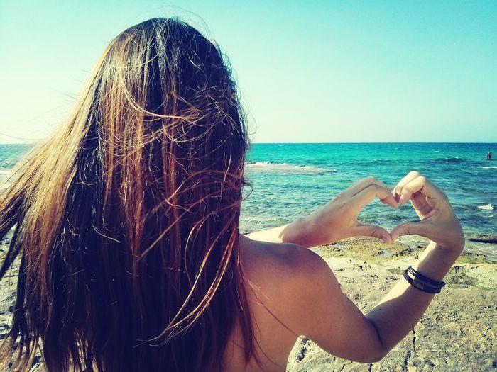 I Love The Beach . ♡