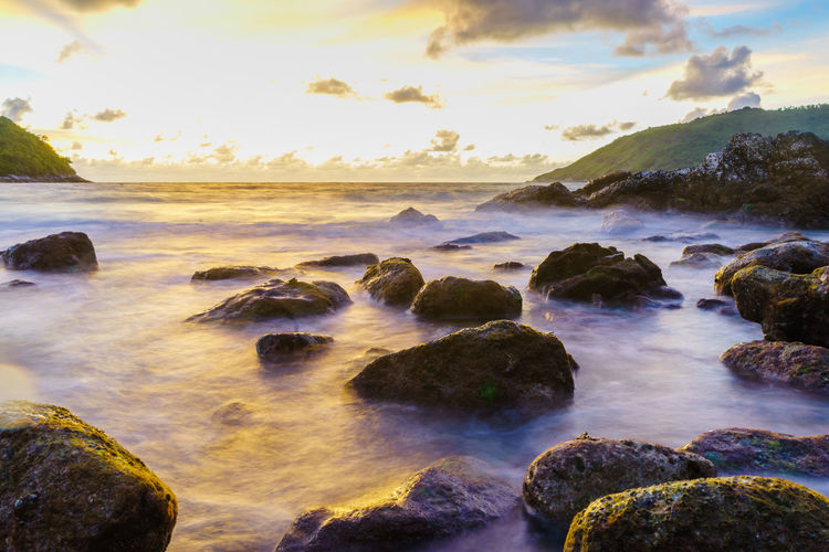 Rock Water Sky