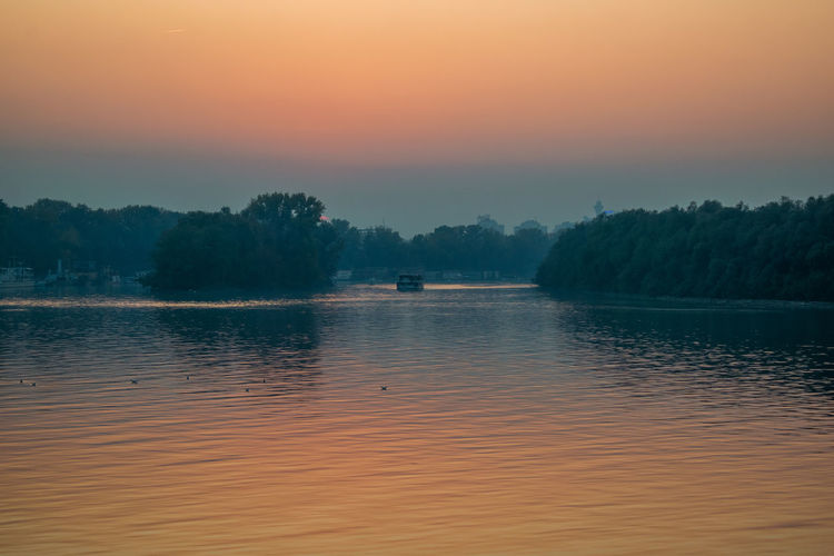 A place in belgrade, popular for watching sunsets..