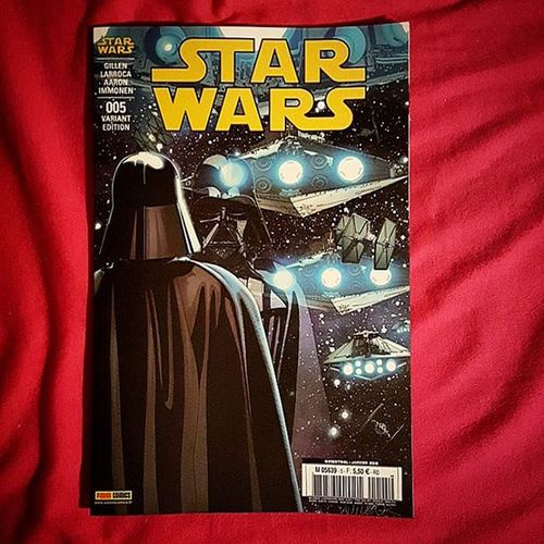 Arrivage Comics de la semaine : Starwars 005 Ombres et mensonge de chez @paninicomicsfra Variant Édition LucasFilm Vador Darkvador Skywalker
