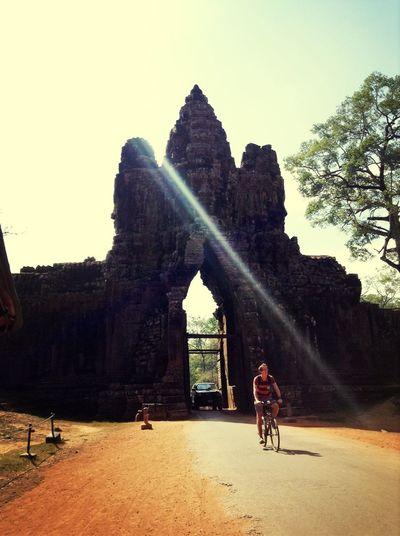 Angkorwat Cambodge Travel Enjoying Life