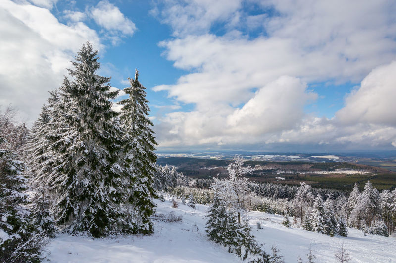 Beauty In Nature Cloud Cloud - Sky Cloudscape Cloudy Cold Cold Temperature Dramatic Sky Erbeskopf Hunsrück Idyllic Majestic Mittelgebirge Moody Sky Outdoor Outdoors Scenics Sky Snow Tranquil Scene Tranquility View Weather Winter Showcase March