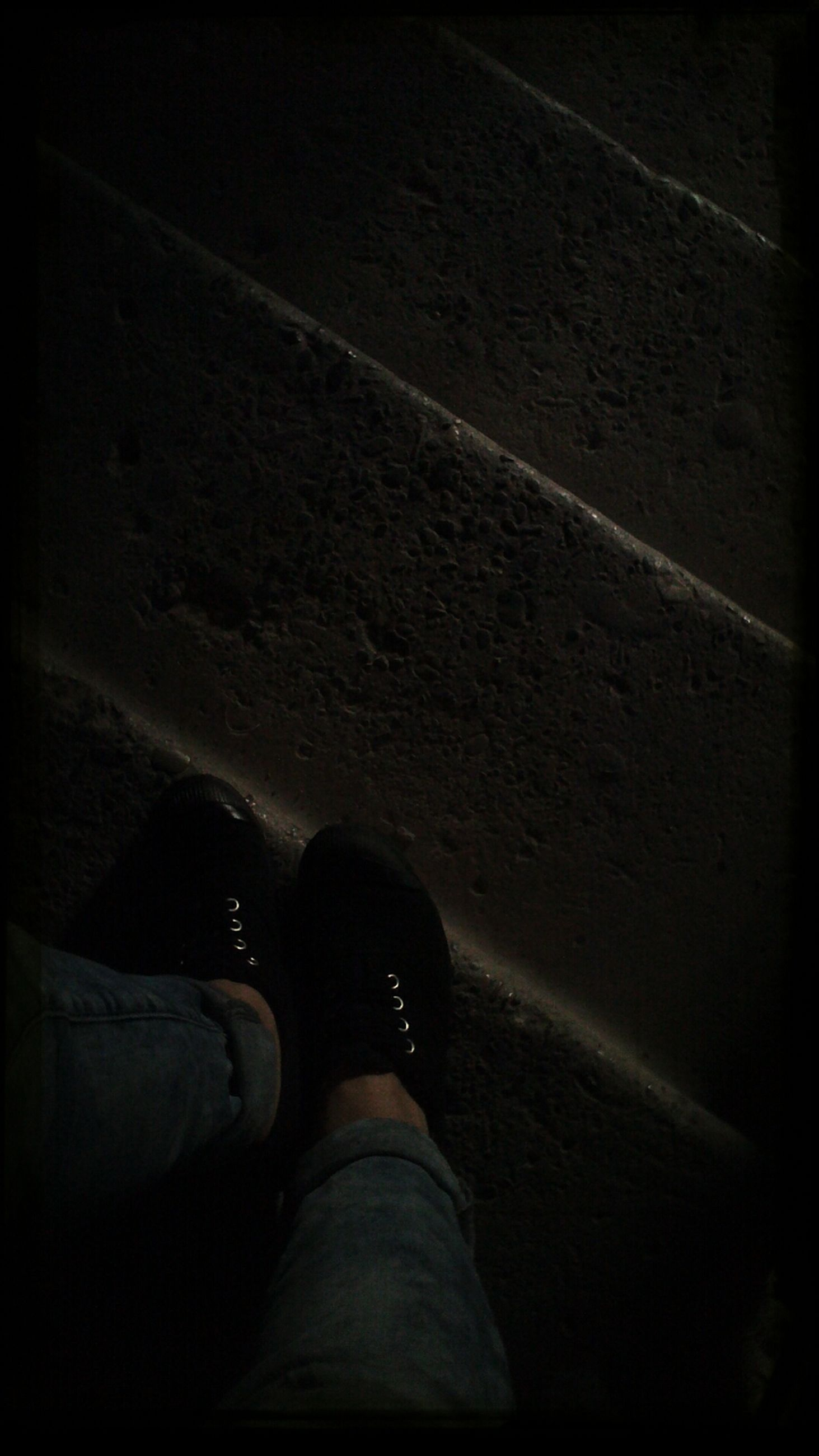low section, person, lifestyles, shoe, personal perspective, standing, men, leisure activity, human foot, unrecognizable person, high angle view, shadow, footwear, auto post production filter, night, indoors