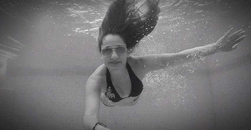 Alberca Profundidad Nadando
