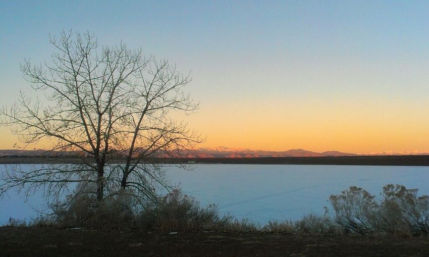 what a great #colorado morning at cherry creek #cowx #photo