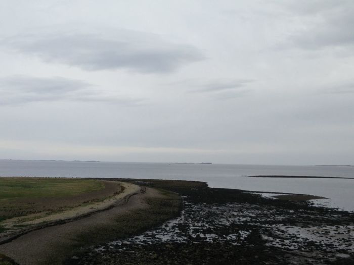 Sea Beach Horizon Over Water Nature Sky Water Outdoors Tranquility Scenics Beauty In Nature No People Day Island Lindisfarne Holy Island