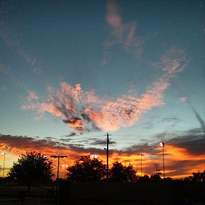 Dam son AZ Sunset
