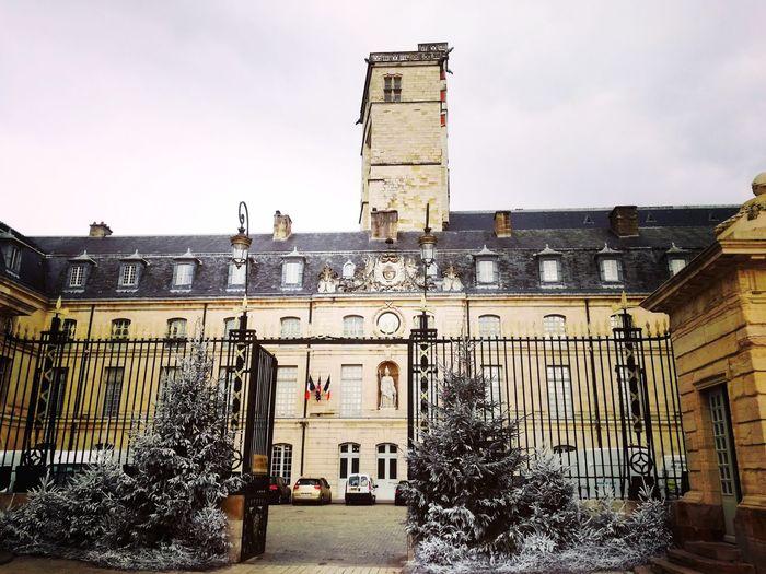 mairie de dijon Dijon Mairie Janvier 2018 Day Sky Building Exterior