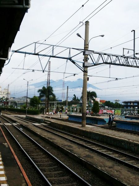 Stasiun Bogor.. Bogor Train Station :o, ? by Mahalira Travel Photography