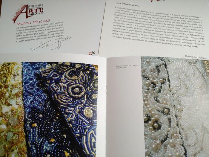 Paper Indoors  No People Close-up Day No Edit/no Filter Teatro Del Verme Milano Premio Internazionale Arte Milano Thank You ❤ Marina Mincuzzi Art Texture Mosaic ©