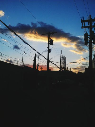 Yesterday's sunset :) First Eyeem Photo