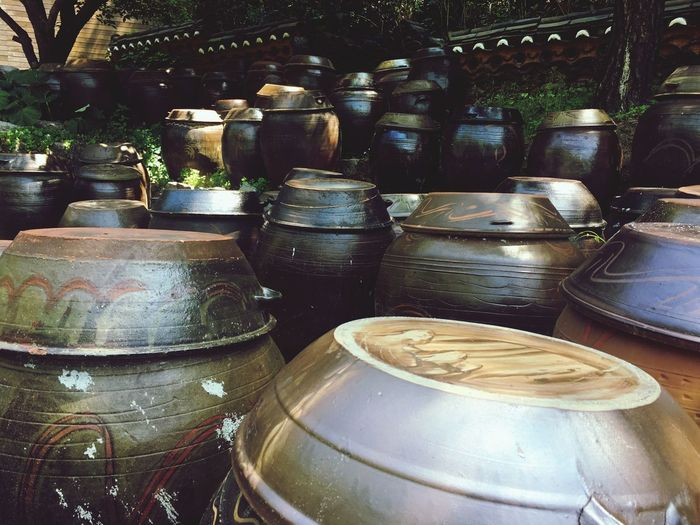 korea traditional container Korea Photos Korea Traditional Container No People Still Life Arrangement Day Large Group Of Objects Container Stack Outdoors No People Still Life Arrangement Day Large Group Of Objects Container Stack Outdoors