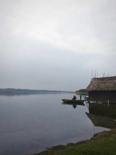 Schaalsee Germany Germany🇩🇪 Lake Lake View Lakeshore Boat Rowing Boat Rowing