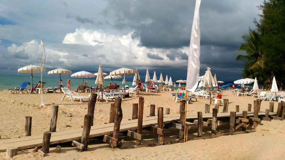 white sand beach @ khao lak