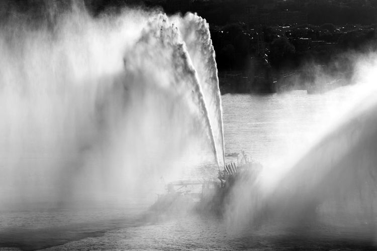A fire boat in Hudson river, NYC Fire Extinguisher Blurred Motion Boat Cascade Coast Guard Danger Day Fire Fire Boat Fire Fighters Flowing Water Force Hose Motion Nature Outdoors River Scenics Speed Splashing Spraying Water Waterfall The Week On EyeEm EyeEmNewHere