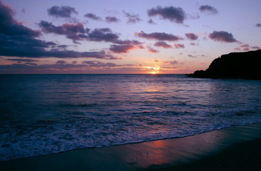 Thurlestone Devon South Hams Beach Sunset Clouds Sky The KIOMI Collection