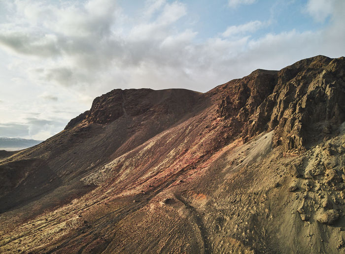 First Eyeem Photo Sky Mountain Cloud - Sky Beauty In Nature Scenics - Nature Tranquil Scene Tranquility Non-urban Scene Landscape Environment Nature Day No People Rock Mountain Range Physical Geography Idyllic Geology Remote Rock Formation Outdoors Formation Mountain Peak Eroded Arid Climate
