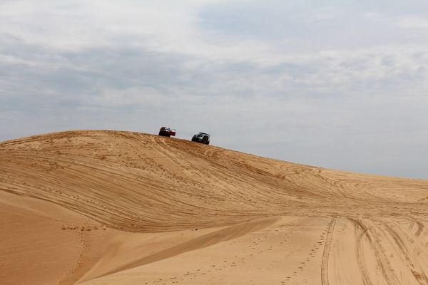2016 Beauty In Nature Desert Landscape Offroad Sand Sand Dune Sky Summer Travel Wanderlust