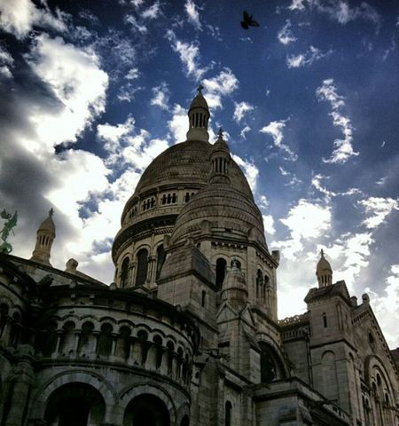 Basilique Du Sacré-Coeur Sacre Coeur Paris Paris, France  Sky And Clouds Hdr_Collection Hdr_gallery Hdroftheday Monuments History Basilic Cloudporn #skyporn #beautiful #bestskysever Film Photography Picoftheday Photooftheday