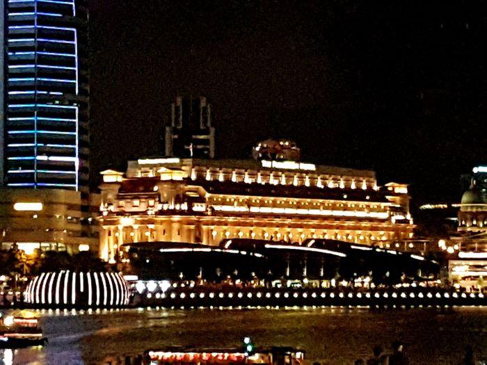 Night View Nightshot Urban Nightsky Marina Bayfront@singapore