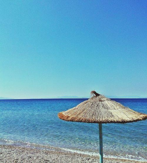 Sea Sky Blue Greece