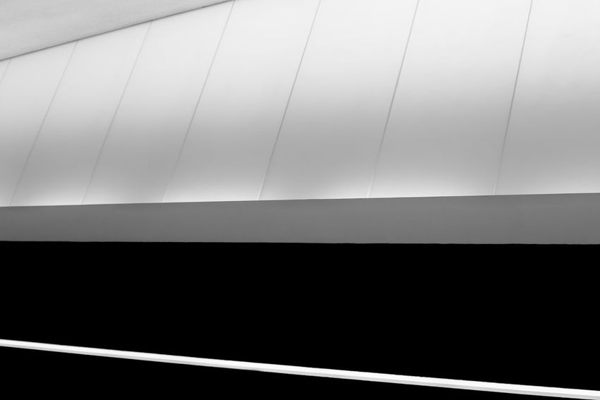 Abstract Architecture Backgrounds Blackandwhite Built Structure Ceiling Close-up Copy Space Dark Day Full Frame High Angle View Indoors  Light And Shadow Minimalism Modern No People Pattern Tilt Window
