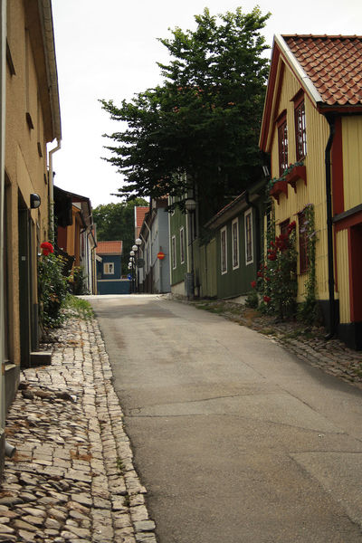 Architecture Building Exterior Built Structure City Day House Houses No People Old Buildings Outdoors Residential Building Street The Way Forward Tree Walking Around Wooden House