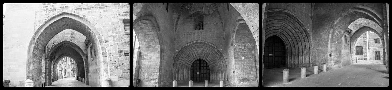La Rioja Santo Domingo De La Calzada Arch Architecture Building Exterior Built Structure Camino De Santiago Catedral De Santo Domingo De La Calzada Day History Indoors  Low Angle View No People Place Of Worship Religion Romanico Window