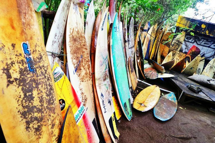 Relaxing Surf Surfboards Colorful Perspective