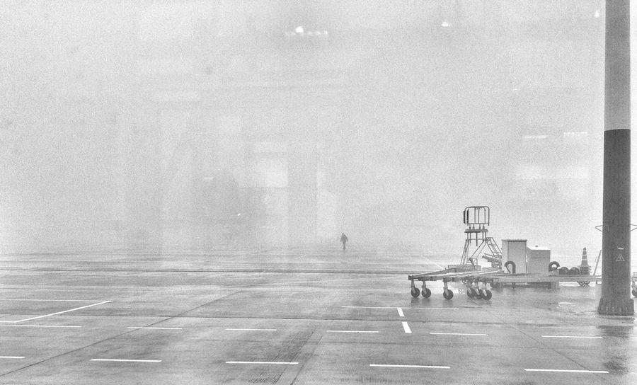 """Туман такой, что можно снимать продолжение фильма """"Мгла"""""""