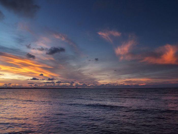 Unforgettable Sunset Landscape Geojatim Geonusantara INDONESIA Tuban Sunset Sea Tranquil Scene Beauty In Nature Scenics Water Tranquility Horizon Over Water Nature Sky Dramatic Sky Cloud - Sky Outdoors
