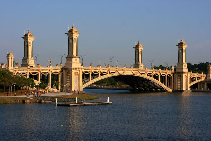 View Of Seri Gemilang Bridge