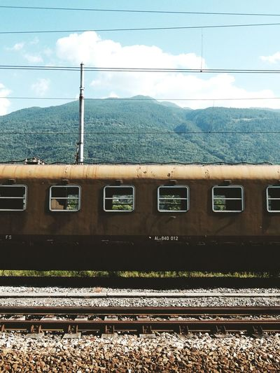Fujifilm Fujifilm_xseries Fujifilm XQ2 Train Sondrio Valtellina Old Old Train Peace Peace And Quiet Mountains Alps Urban Nature Classicchrome The Photojournalist - 2016 EyeEm Awards