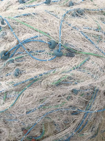 Ropes tangled