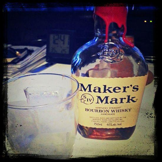 MakersMark red blad. Hi! Hello World