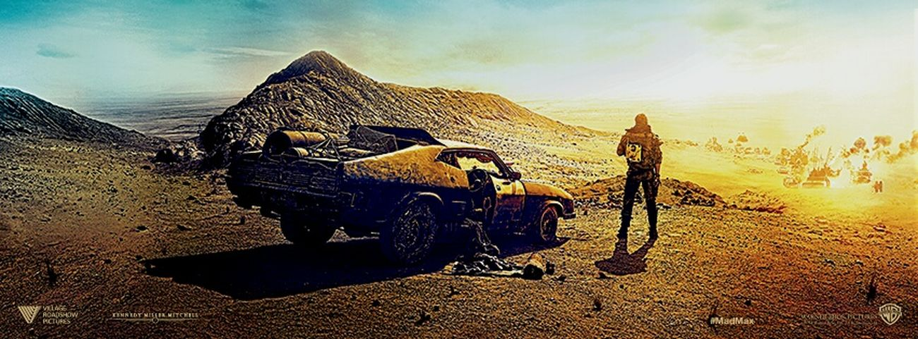 What A Lovely Day Mad Max Fury Road Banner Warner Tom Hardy Charlizetheron Frank Millar