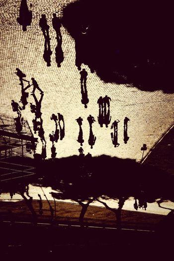 Cityscapes shadows Roma