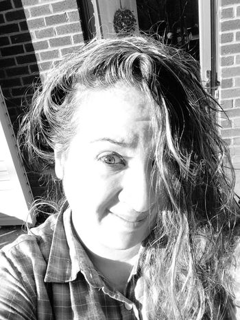Wet Hair Imweird Check This Out LongIslandNY When Boredom Strikes. Brown Eyes Nikki Nicole ❤ Taking Photos That's Me Wettowelhair Sunlight ☀ Wethair  Silly #funny #loveable #me Silly Face Closeupshot Emotion In Life