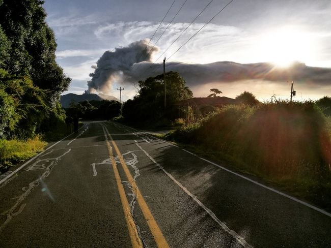 Costa Rica Volcan Turrialba Paisaje Natural