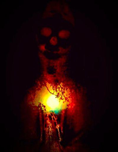 """Our Lady of Perpetual Sorrows reveals her bleeding heart"" (2015) Skeleton Art Weird Art Anti-religion Anti-religious Iconography Religion Is Poison Just For Fun Blasphemy"
