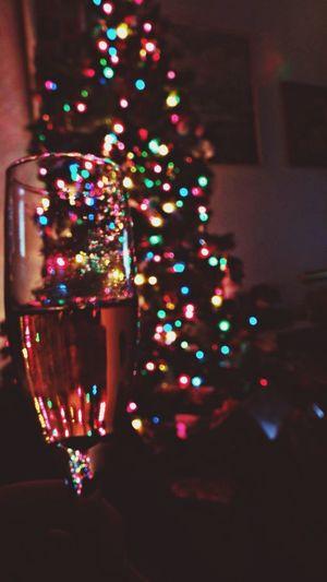 Christmas Christmas Lights Drinks Booze
