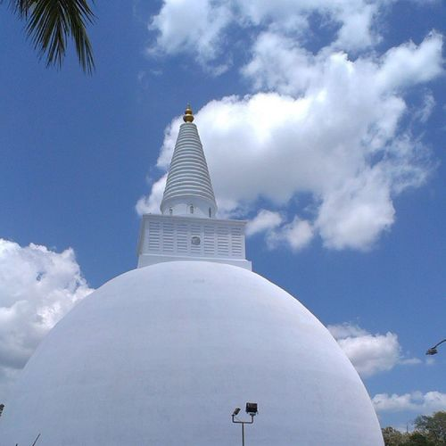 The Mirisaveti Stupa is situated in the ancient city of Anuradhapura, Sri Lanka.[1] King Dutugamunu built the Mirisaveti Stupa after defeating King Elara. After placing the Buddha relics in the sceptre, he had gone to Tisawewa for a bath leaving the scept