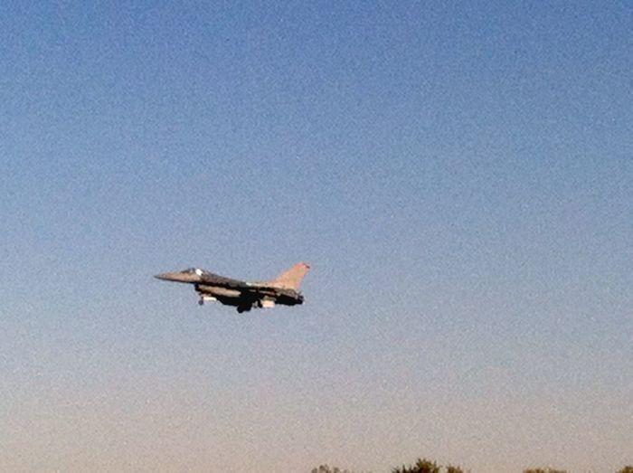 Taking Photos Check This Out AirPlane ✈ Jet Fighter Jet Life ✈ Lucky Me Tulsa, OK OklahomaSkies Oklahoma Sky Oklahoma Skies