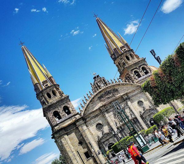 Guadalajara Catedral Turisteando Color Architecture EyeEm Historic Downtown Urban Spring Fever
