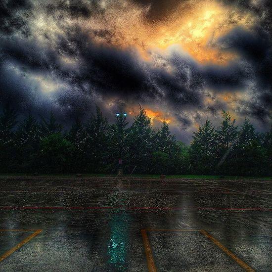 Eerie HMpixels Surrealism Nature EyeEm Best Shots - Sunsets + Sunrise Rain Check This Out