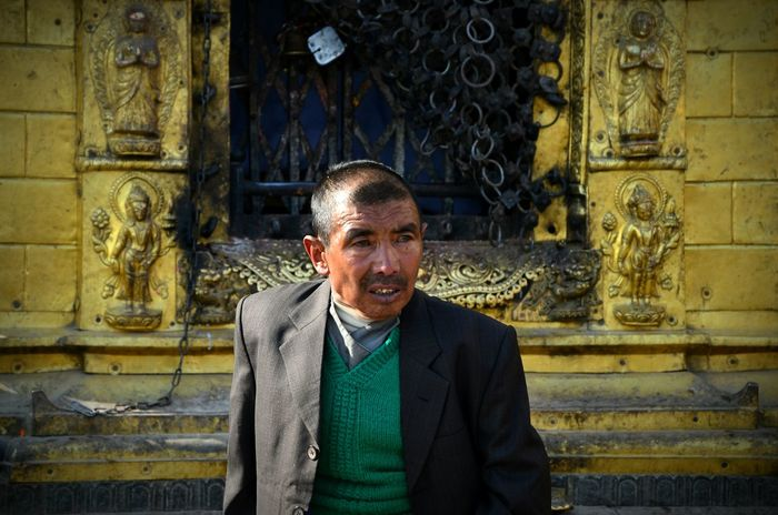 Nepali man. The happiest people in the world. All my respects. Nepal Kathmandu, Nepal People Photography Faces Streetphotography Portrait Colected Comunity Buddhism Travel Photography Aroundtheworld Picturing Individuality