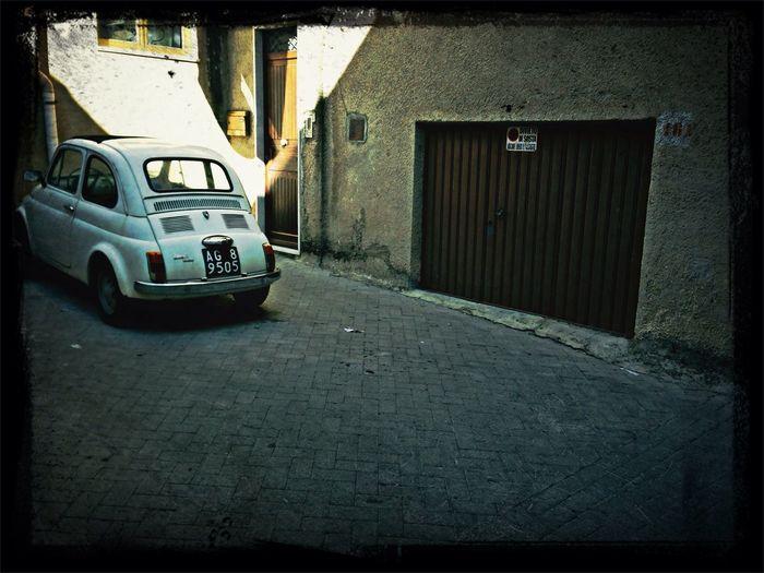 """Garage per """"500"""""""