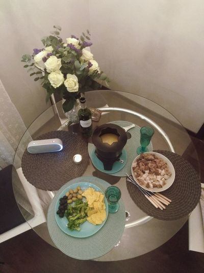 Table Flower Indoors  Freshness Food And Drink Plate Food