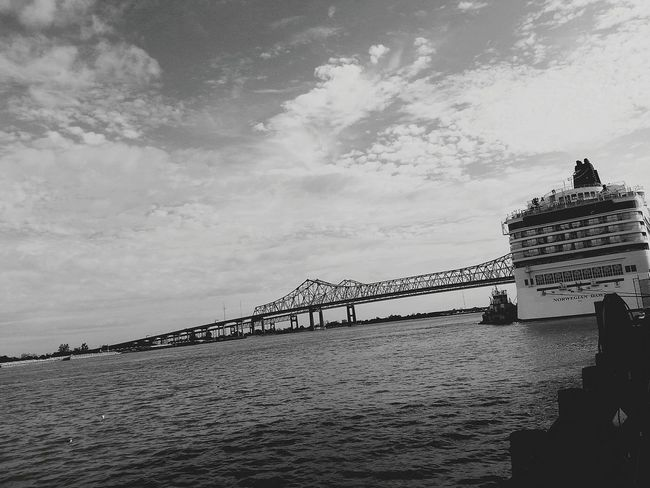 Once Upon A Time A Bridge Over Troubled Waters. New Orleans, LA Cruise Ship